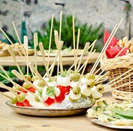Ideias para festas com crianças – Pizza, burritos, Churrasco, fingerfood