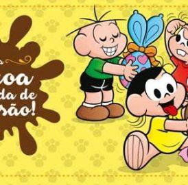 Parque da Mônica celebra a Páscoa com a  Oficina de Orelhinhas do Sansão