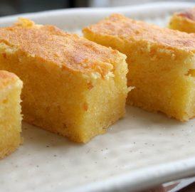 Bolo de tapioca, bolo de mandioca ou Mané pelado