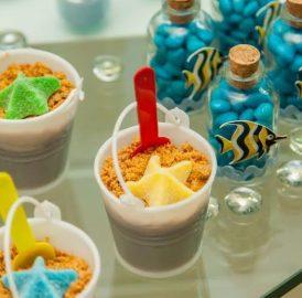 Como organizar a mesa de doces – Festa Infantil doces para decorar