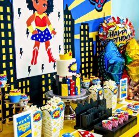 Festa Mulher Maravilha – A heroína da festa, sua filha