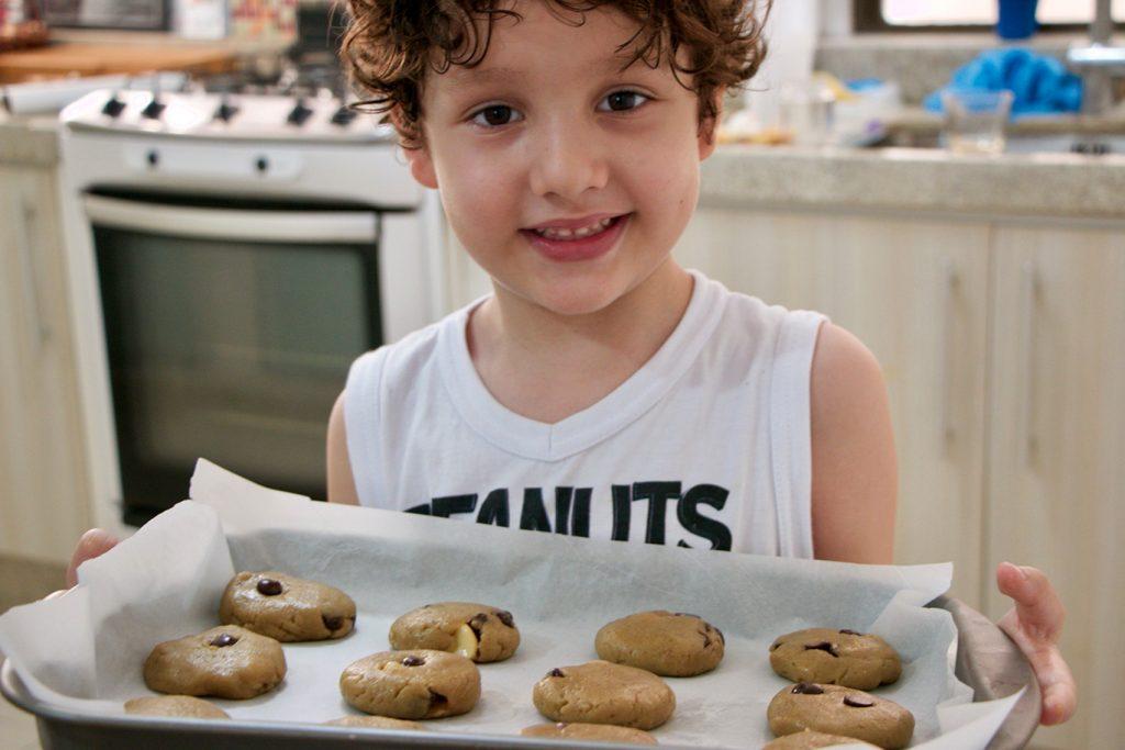 razoes para Cozinhar com seus filhos