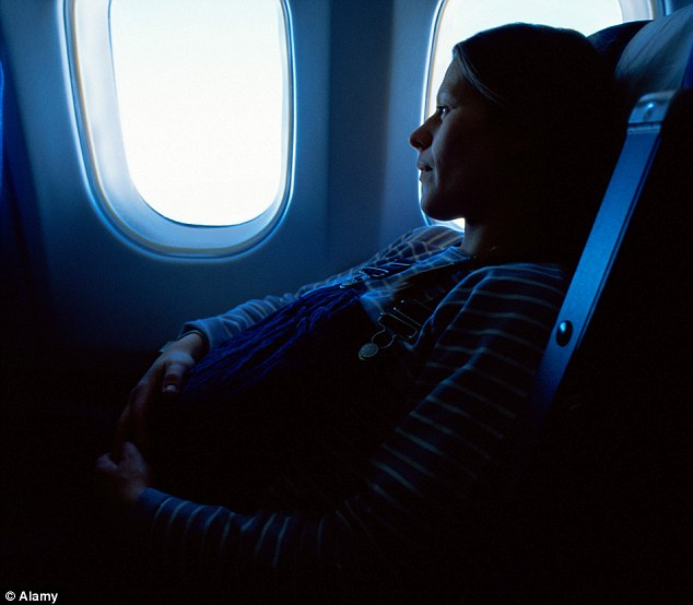 Viajar de aviao gravida