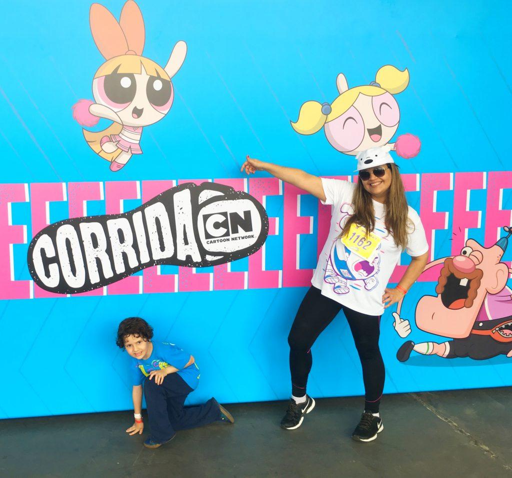 kit Corrida Cartoon Network 2018