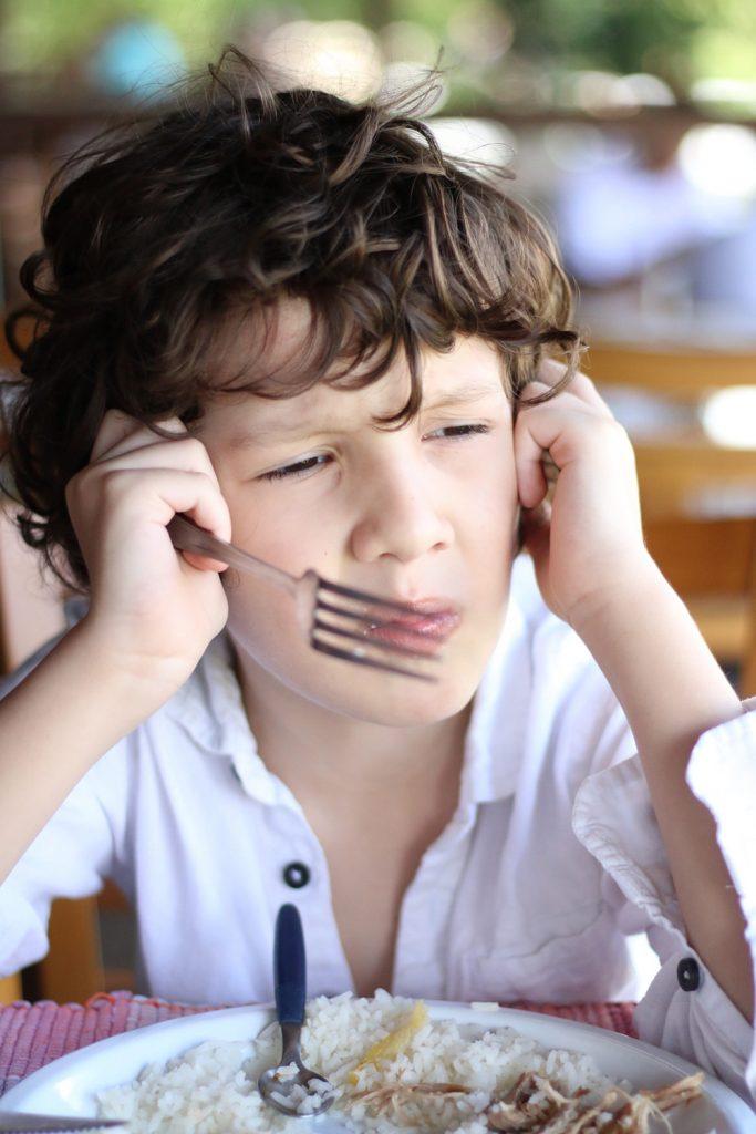 Seu filho come bem no periodo escolar