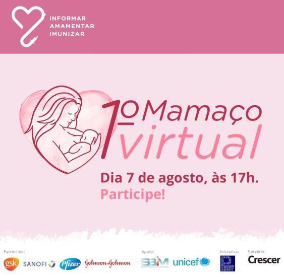 CRESCER promove primeiro Mamaço Virtual
